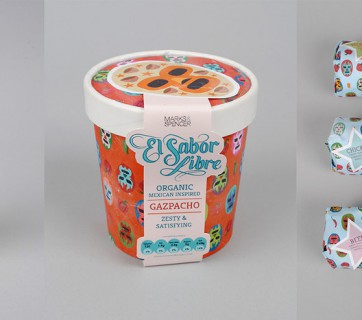 lucha libre food packaging