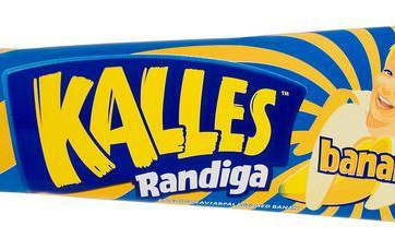 Kalles Banana Kaviar in a tube