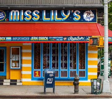 Restaurant Signs for Miss Lilys in New York by Farewell