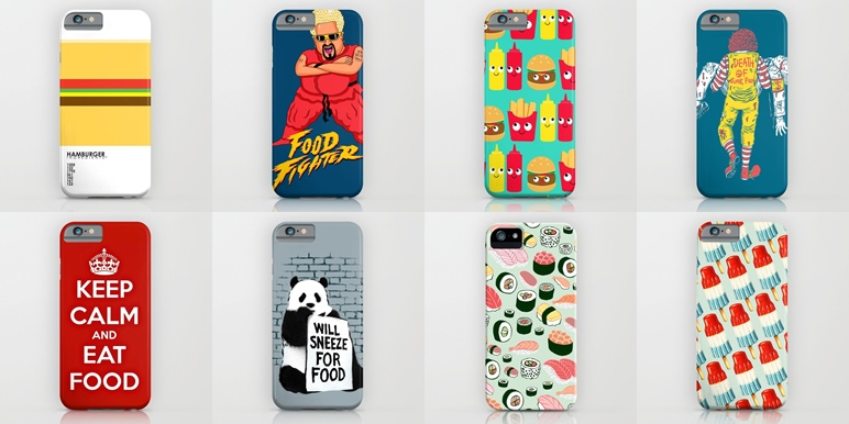 20 phone cases for foodies