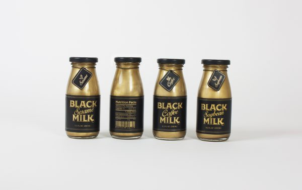 Gold food packaging
