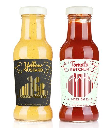 ketchup packaging design
