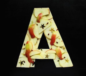 A-Z Food Photography Project - A is for Apple