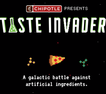 Chipotle Taste Invaders