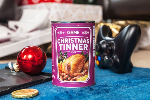 A Christmas in a Can 3-Course Meal