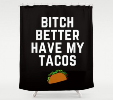 10 Food Shower Curtains, yes this really is a list of Food Shower Curtains, check it out at Ateriet.com