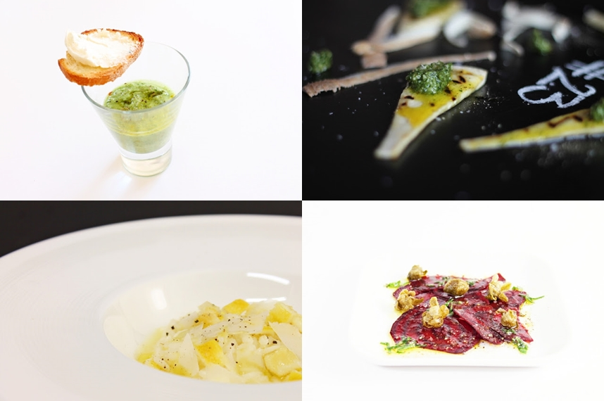 Vegetarian New Year's Eve Menu at Ateriet, get this and many more great recipes at Ateriet