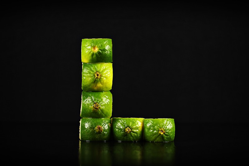 A-Z Food Photography Project - L is for Lime at Ateriet.com Food Letters Food Alphabet A to Z Food Food Typography