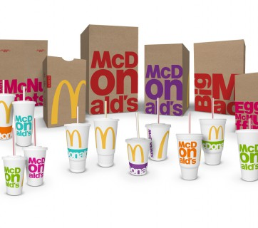 Check out McDonald's New Packaging Design at Ateriet