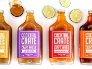 Cool Handmade Cocktail Mixers from Cocktail Crate in Queens, New York