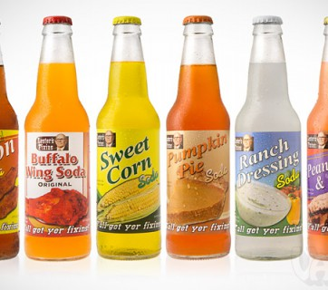 Food Flavored Soda from Lester's Fixin