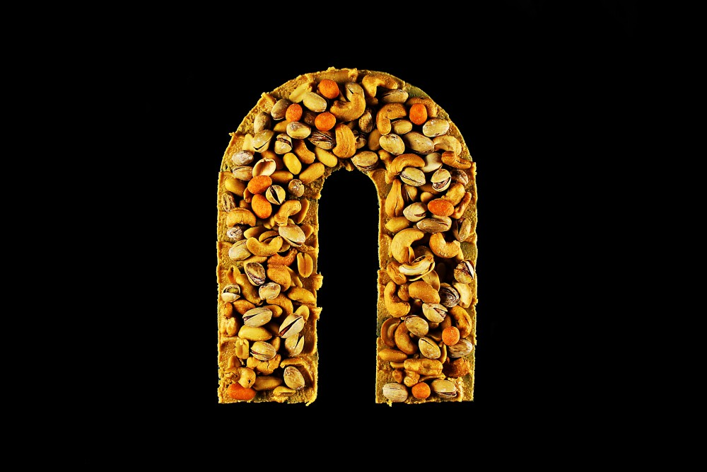 A-Z Food Photography Project - N is for Nuts Food Letters, A to Z Food, Food Alphabet