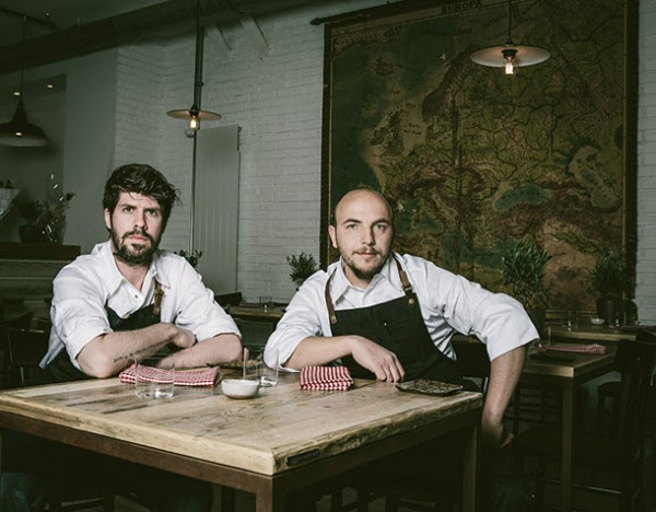 Chef Q&A with Paulo Airaudo & Francesco Gasbarro, La Bottega. Read it at Ateriet.com