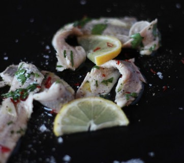 How to make Boquerones with Herring