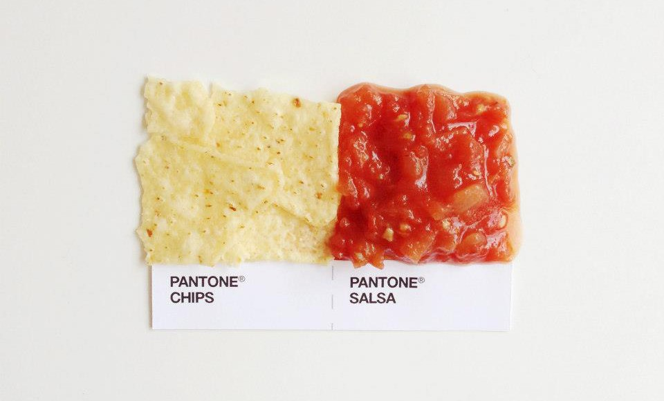 Why is everyone matching Pantone with Food?