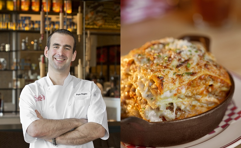 Chef Q&A with Bryan Forgione of Buddy V's in Las Vega, read it at Ateriet