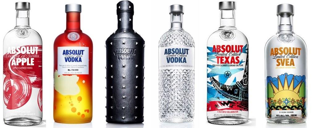 40 Absolut Vodka Bottles With Stunning Design - AterietAteriet