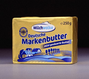 Retro Butter Packagings from Germany