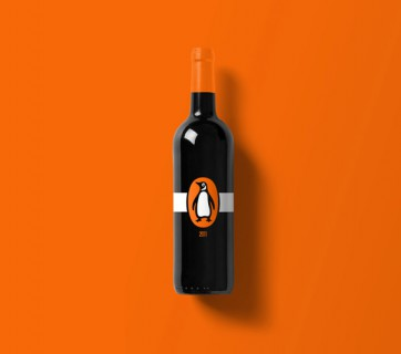 Branded Wine Bottles - if every brand had it's own wine Penguin Wine Bottle