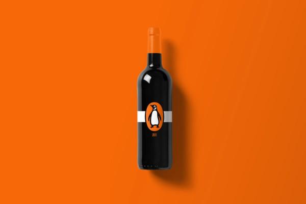 Branded Wine Bottles - if every brand had it's own wine Penguin Wine Bottle