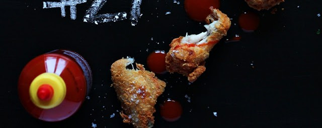 Chicken Wings with Sriracha