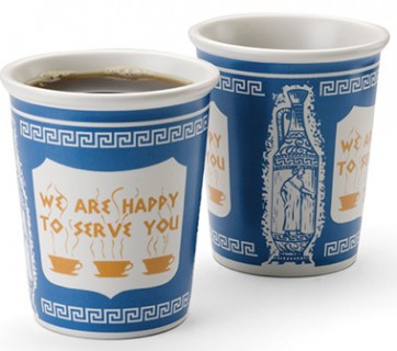 The History of The Anthora - New York's Greek Coffee Cup