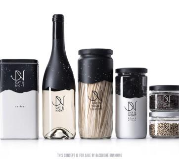 Day & Night Branding Concept by Backbone Branding