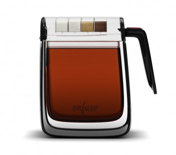 Enfuse Tea Maker is one good looking gadget, see it at Ateriet