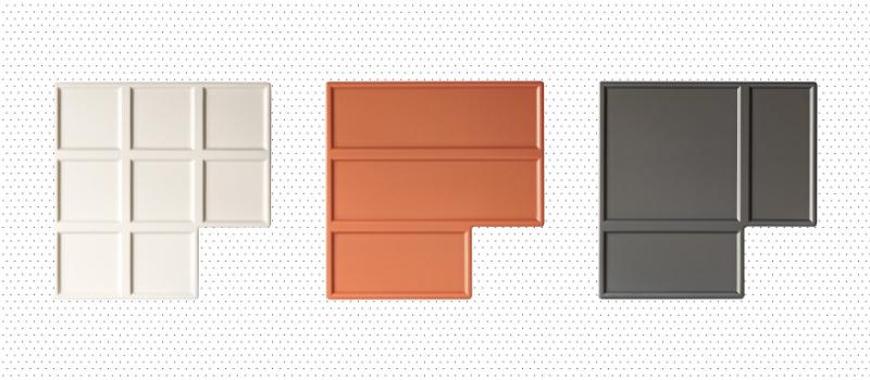 Chocolate Inspired Ceramic Tiles