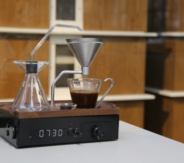 Coffee Alarm Clock - Check out The Barisieur