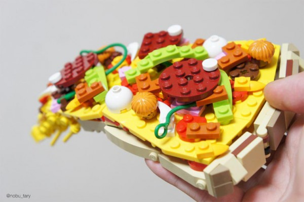 Lego pizza slice