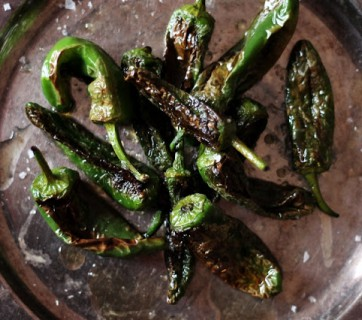 Pimientos de Padron - A Great Spanish Snack