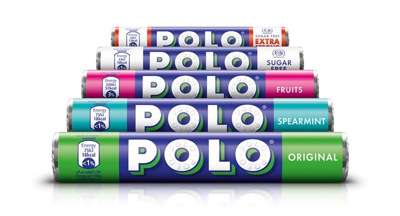 Polo Mints Rebrand - Rediscover The Mint with The Hole