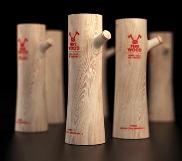 Whisky in wood bottle, Wood Food Packaging - 10 Great Ideas