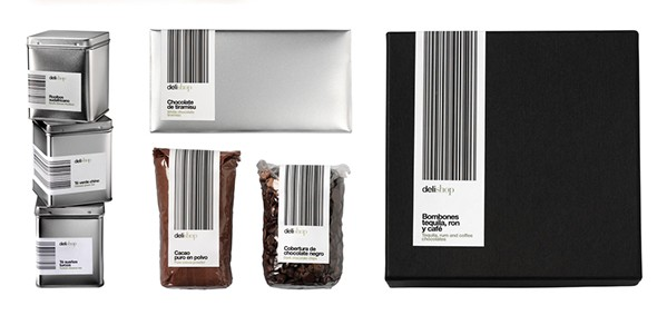 Barcode packaging design the code is the design for Barcode food