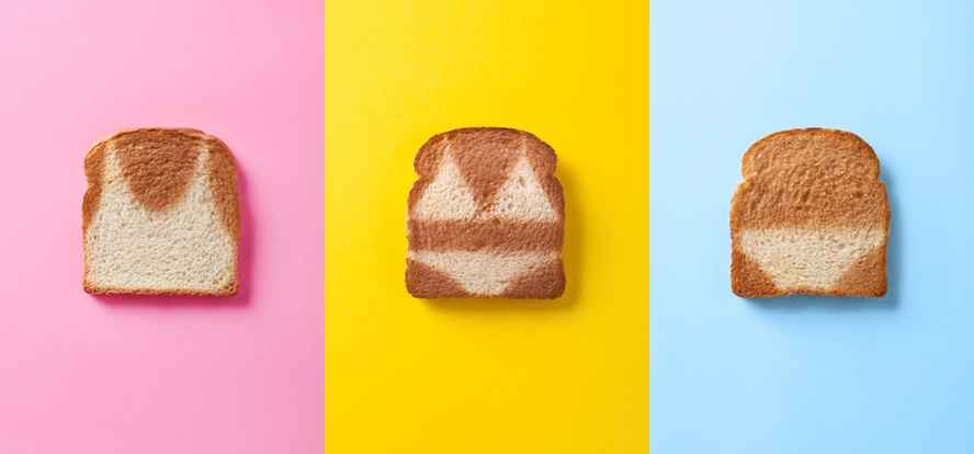 Bikini Toast - See these fun summer inspired toasts