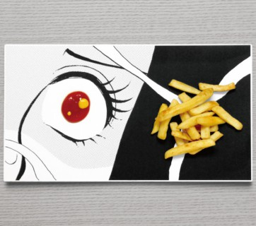Manga Inspired Plates - Add some drama to your meal