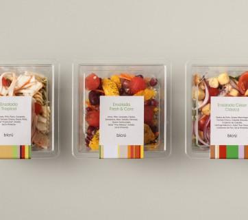 Packaging for Bicrú Green Takeaway