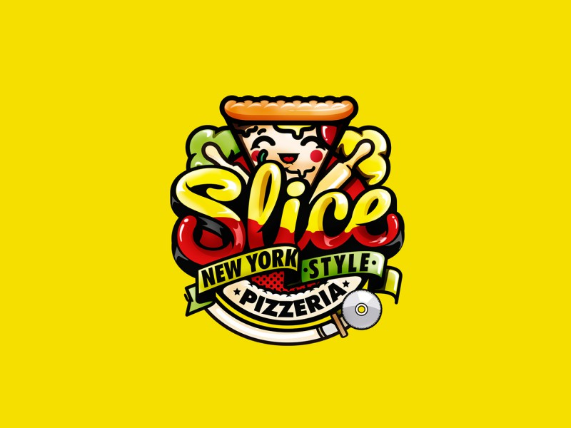 Pizza Slice Design for Slice Korea