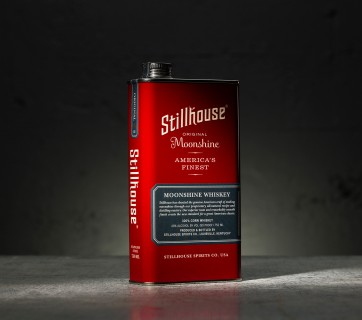 Stillhouse Moonshine Packaging is inspired by your garage