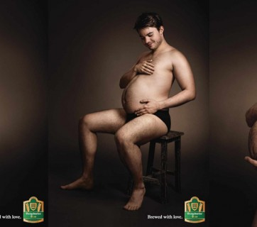 Beer Belly Ads for Bergedorfer
