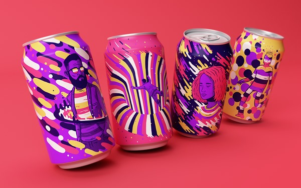 Colorful Design Makes This Soda Irresistible