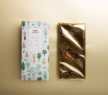 Mon Choco Chocolate Packaging by Futura