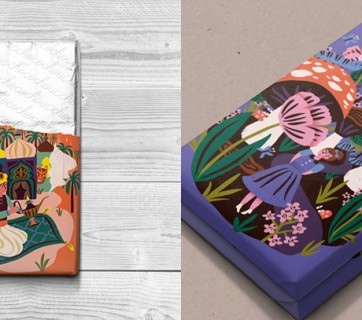 Fairytale Chocolate Packaging for Choco Chou