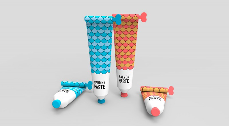Food in Tube Packaging with a Twist