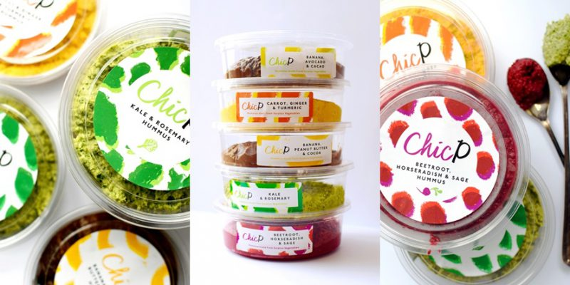 ChicP Hummus Packaging and Branding