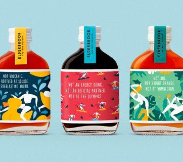 Elderbrook Drinks Packaging Tells Us What It's Not