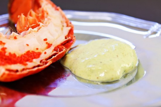 Lobster with Caper Aioli