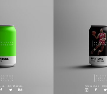Mr Chuck Cokes Concept - Even More Pantone Packaging