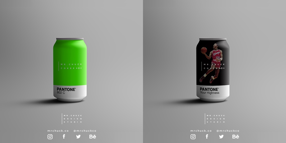 Mr Chuck Cokes Concept - Even More Pantone Packaging